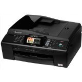 Black Friday Brother MFCJ615w Wireless Color Photo Printer with Scanner, Copier & Fax